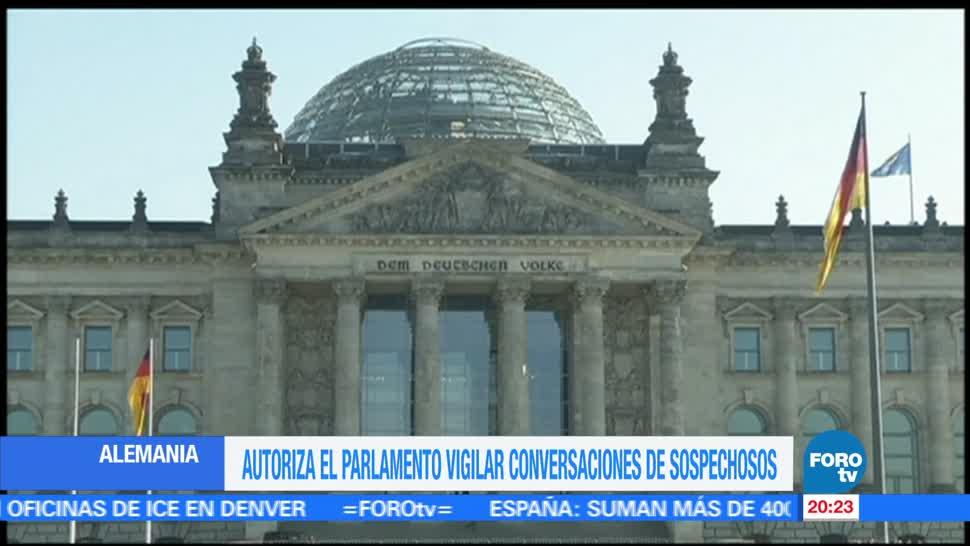 Alemania, aprueba, monitoreo conversaciones, sospechosos, terrorismo, parlamento aleman