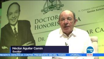 Héctor Aguilar Camín, recibe, Doctorado. Honoris Causa, Universidad. Quintana Roo