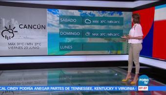 El clima, Daniela Álvarez, zona de inestabilidad, Pacífico mexicano