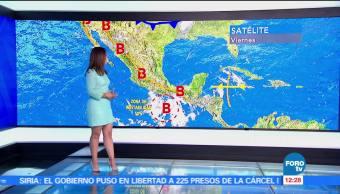 Tiempo al tiempo, Raquel Méndez, el clima, zona de inestabilidad