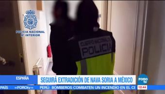 Javier Nava, España, México, extradición