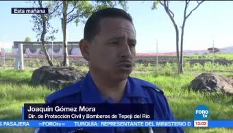 Joaquín Gómez, director de Protección Civil, descubrieron, toma clandestina de gas