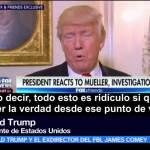 Trump, cuestiona, imparcialidad, fiscal Robert Mueller, investigación, intervención rusa