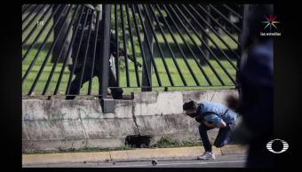 Indignación, mundial, asesinato, joven, Venezuela, Guardia nacional