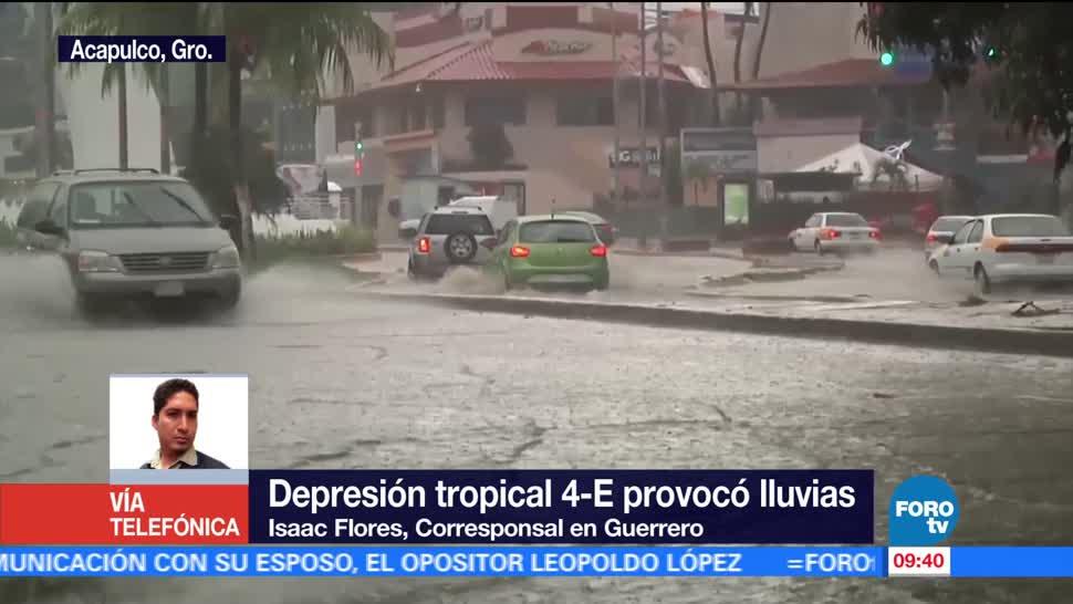 Guerrero, Chiapas, daños en viviendas lluvias, daños