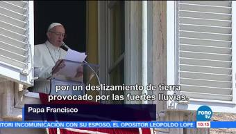 Vaticano, papa Francisco, víctimas desaparecidas, China, lluvias