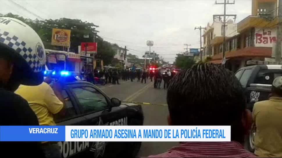 Asesinan, coordinador, policia federal, Veracruz
