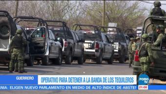 Realizan, operativo, detener, 'El Tequilero', guerrero, policia federal