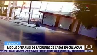 redes sociales, operan ladrones, casas, Culiacán, Sinaloa