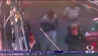 Cámaras de seguridad, CDMX, asalto, Magdalena Mixhuca, Iztacalco