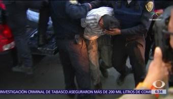 delegación GAM, cámaras de seguridad, asaltantes, detenidos