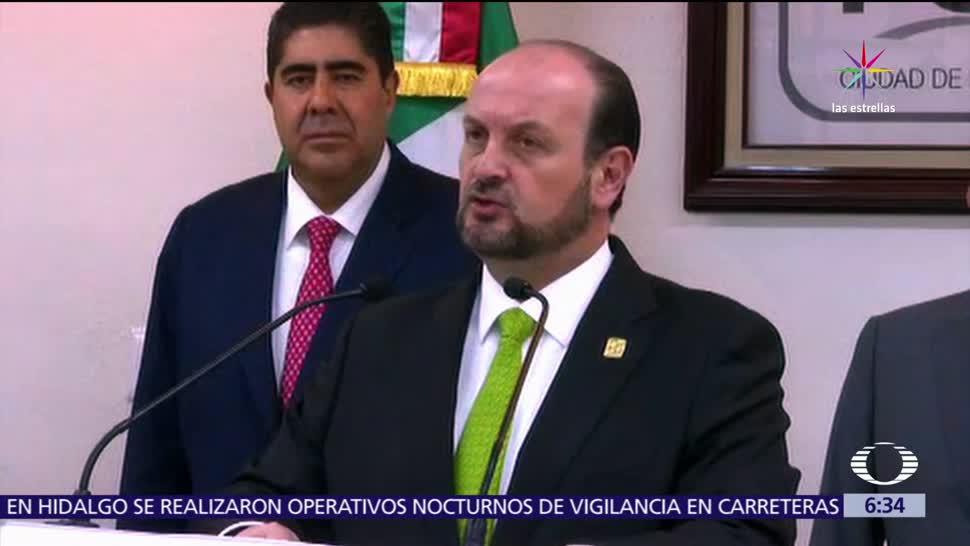 Rodolfo Ríos Garza, Procuraduría de Justicia, CDMX, Edmundo Porfirio Garrido Osorio