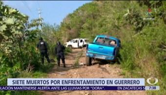 Enfrentamientos, grupos armados, muertos, municipio serrano, Guerrero