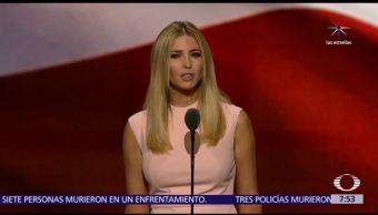 Donald Trump, Ivanka, corte italiana, plagio