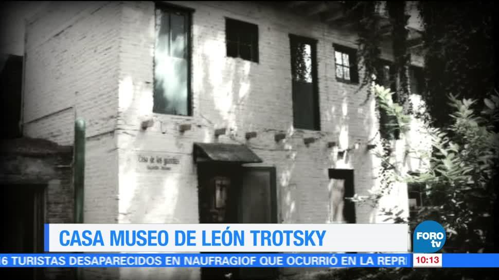 Sofía Escobosa, reportaje, Museo Casa, León Trotsky