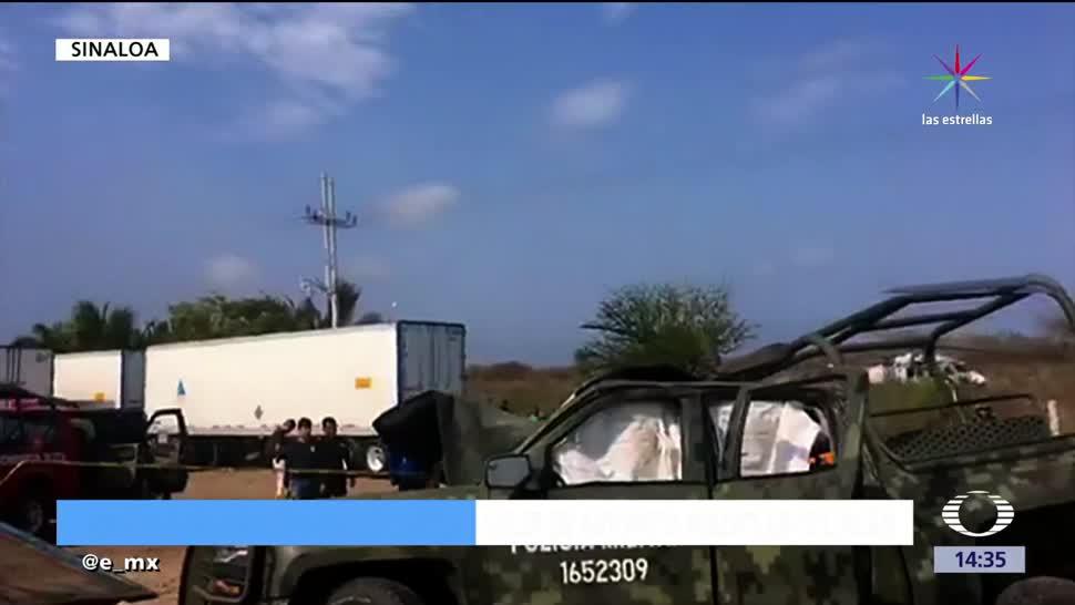 Mueren, dos soldados, choque, Sinaloa
