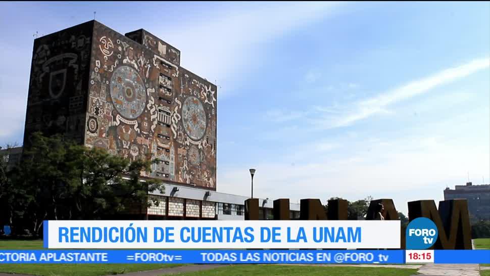 rector de la UNAM, UNAM, diputados, cuenta anual 2016