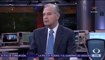 excanciller de México, Luis Ernesto Derbez, Despierta con Loret, panorama político, 2018
