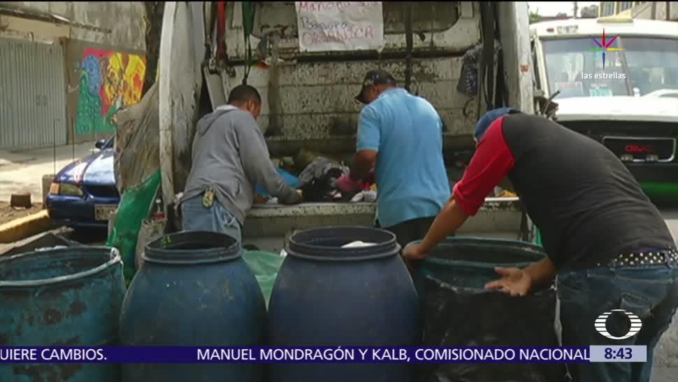 gobierno de la CDMX, no sancionará, incumplan, separación de basura, julio