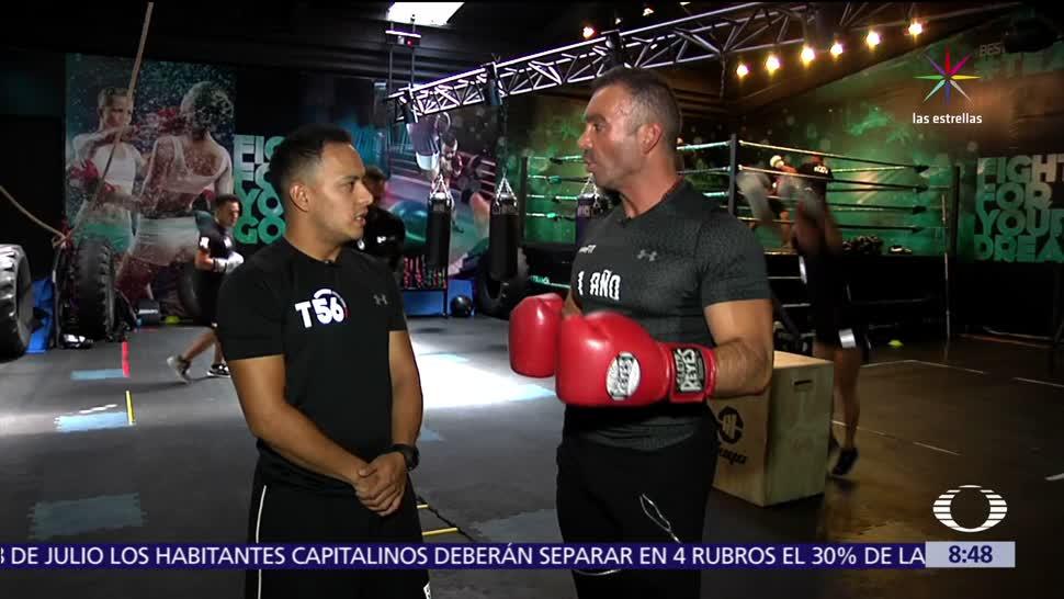 Diego Di Marco, box, ejercicios funcionales, minutos