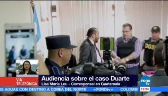 exgobernador de Veracruz, Javier duarte, Tribunal en Guatemala, Guatemala