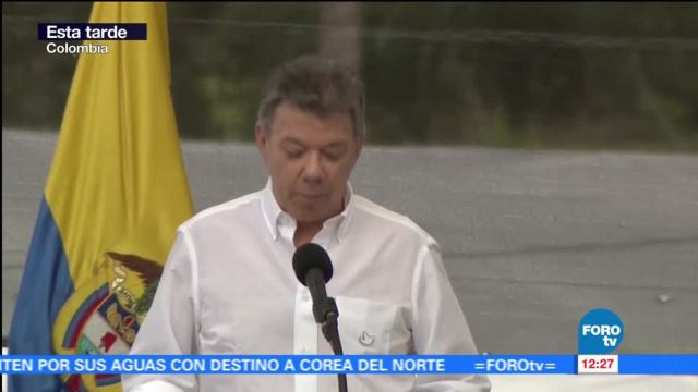presidente de Colombia, Juan Manuel Santos, desarme, FARC, Colombia
