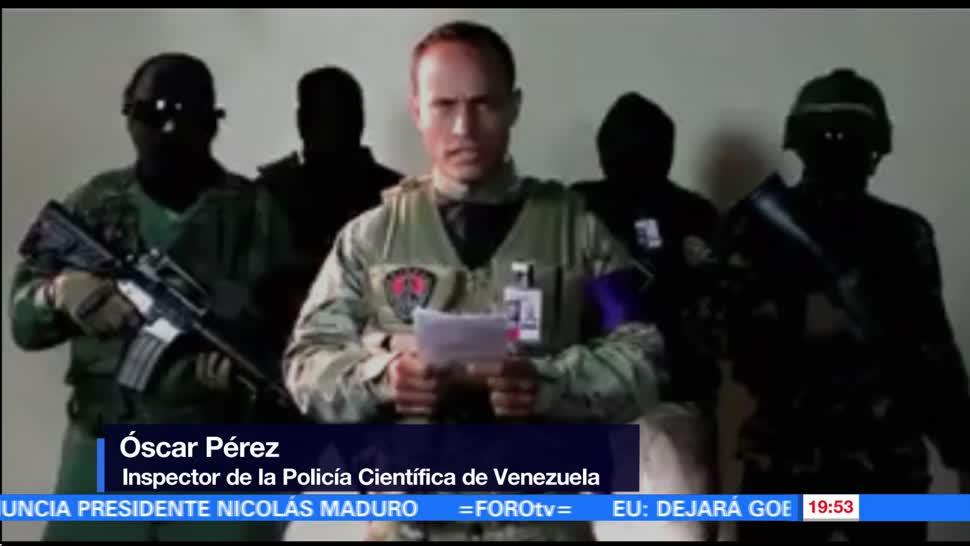 noticias, forotv, Oscar Pérez, lanza mensaje, gobierno, Maduro