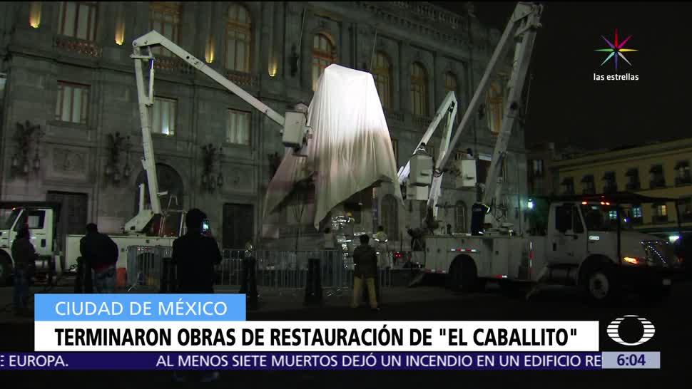 develar, El Caballito, trabajadores, Gobierno de la CDMX