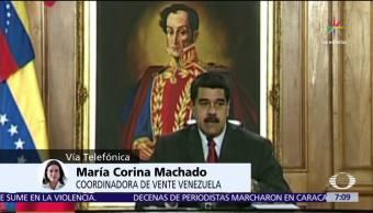 Crisis en Venezuela, ¡María Corina Machado, Despierta