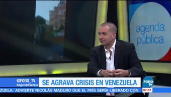 La crisis en Venezuela, Mauricio Meschoulam, decrecimiento económico