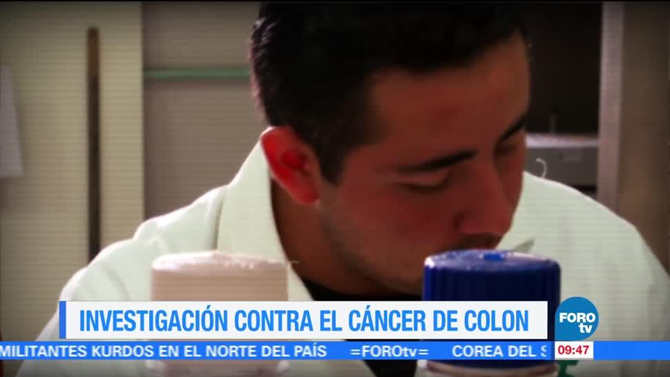 Ximena Cervantes, cáncer de colon, investigación