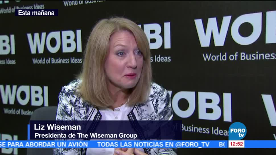 Liz Wiseman, Wiseman Group, Foro WOBI 2017, CDMX