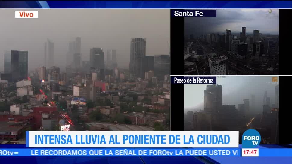 lluvia intensa, poniente, Ciudad de México, Magdalena Contreras, Tlalpan