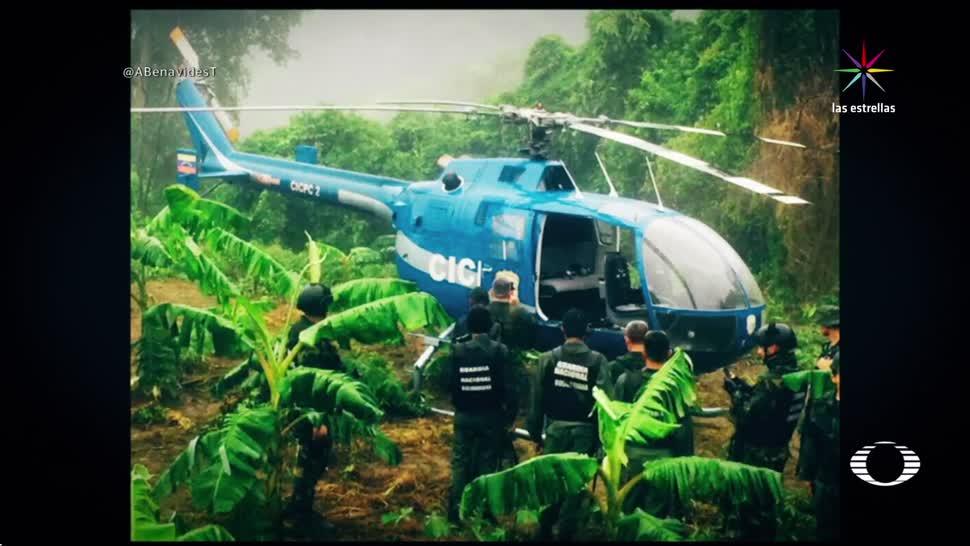 noticias, televisa, Encuentran, helicóptero, usado para atacar, sede del parlamento de Venezuela
