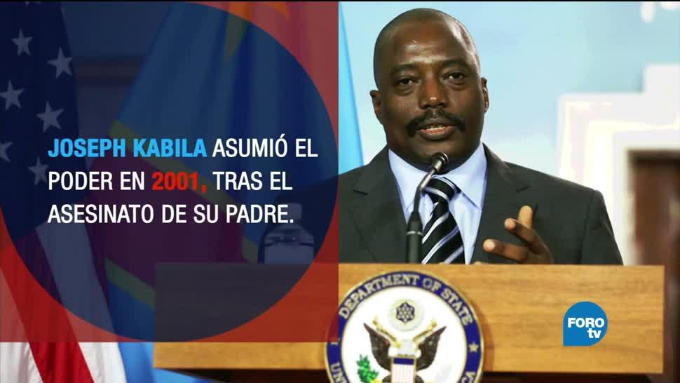 noticias, forotv, Presidente, República del Congo, no quiere elecciones, Joseph Kabila