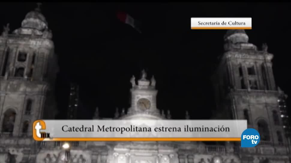 Esteban Arce, reportaje, Catedral Metropolitana, estrenó iluminación