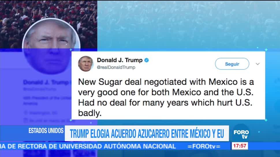 presidente de Estados Unidos, Donald Trump, aprobación, oleoducto, exportar petróleo, México
