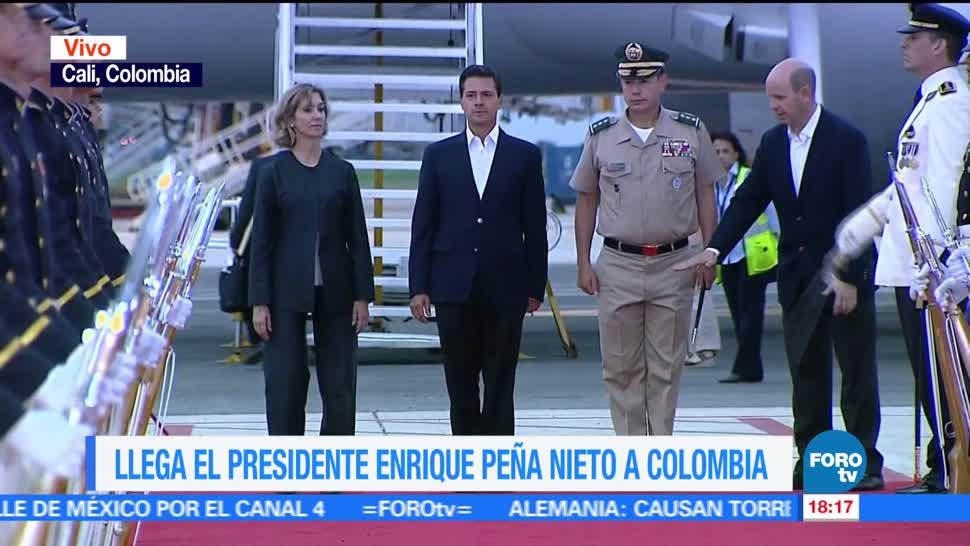 presidente, Enrique Peña Nieto, Colombia, Alianza del Pacífico