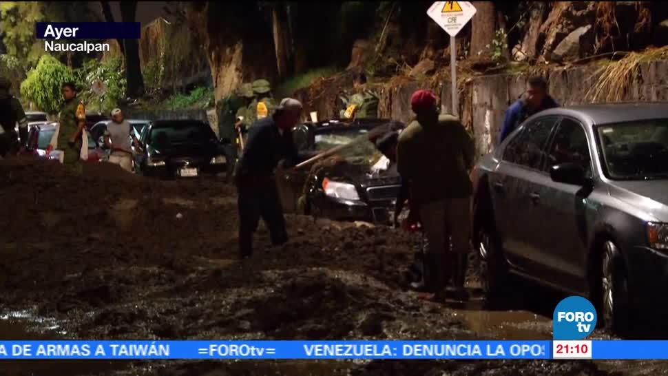 noticias, forotv, Tromba, deja caos, Valle de México, inundaciones