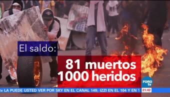 noticias, forotv, 90 días, manifestaciones, Venezuela, Asamblea Constituyente