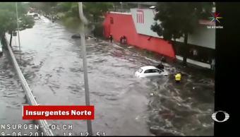 noticias, forotv, De nuevo, lluvia, inundaciones, CDMX