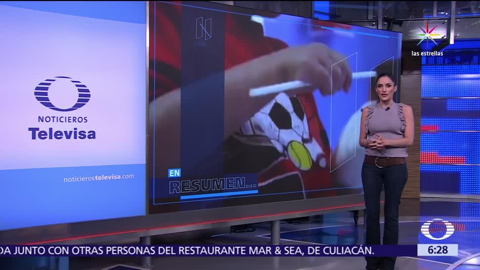 noticias, televisa, Las noticias, con Danielle Dithurbide, Programa, 30 de junio del 2017