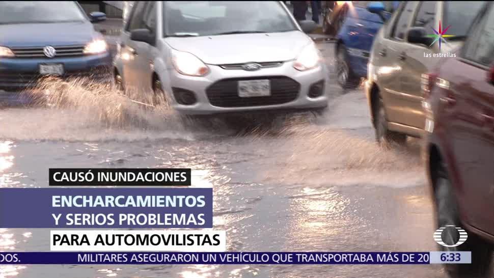 noticias, televisa, Segundo día, lluvias intensas, CDMX, lluvias