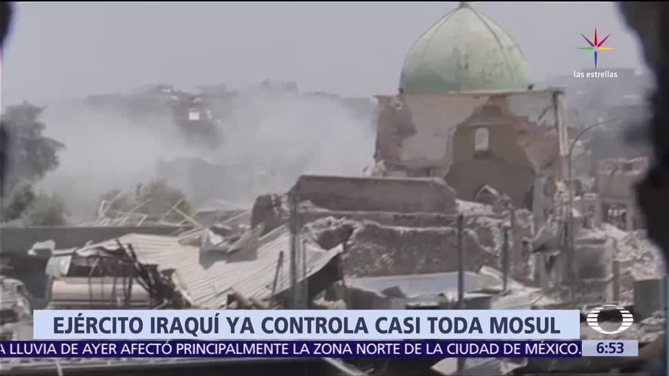 noticia,s televisa, Premier, Irak, acerca el fin, Estado Islámico