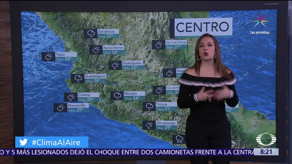 noticias, televisa, Clima Al Aire, Ondas tropicales, provocarán lluvias, lluvias