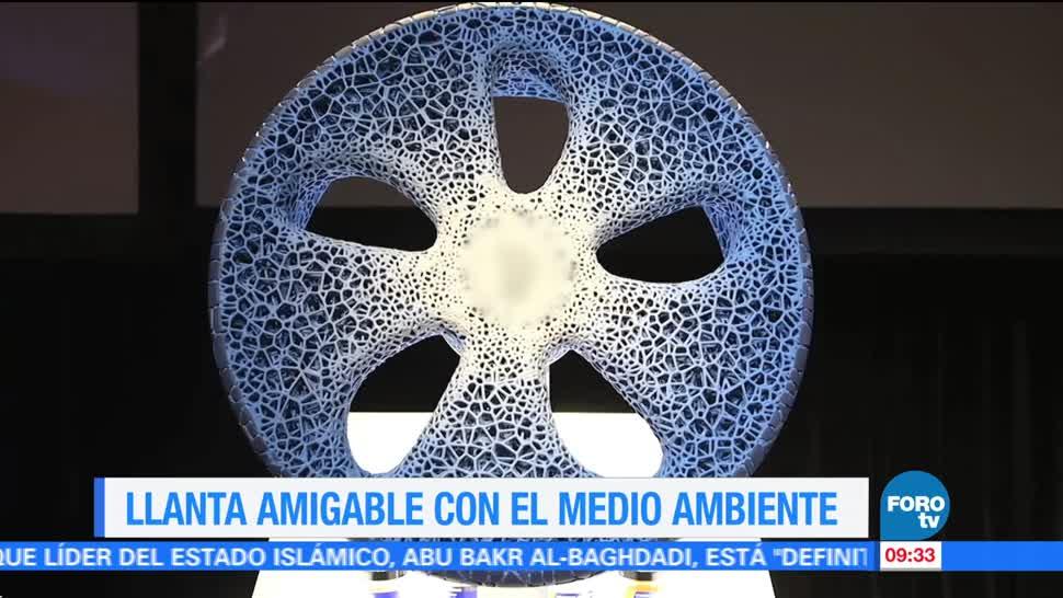 Ximena Cervantes, reportaje, llanta amigable, medio ambiente