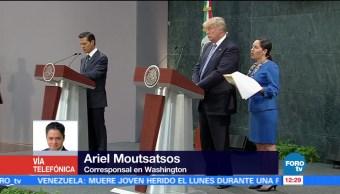 Ariel Moutsatsos, Washington, presidente Enrique Peña Nieto, Donald Trump, Estados Unidos