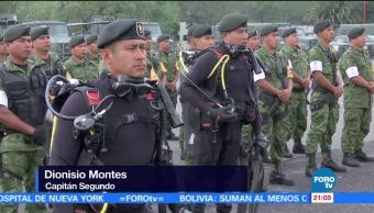 Plan DN-III, Ejército Mexicano, brinda apoyo