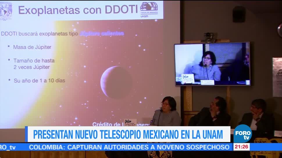 UNAM, presenta telescopio, rayos gamma