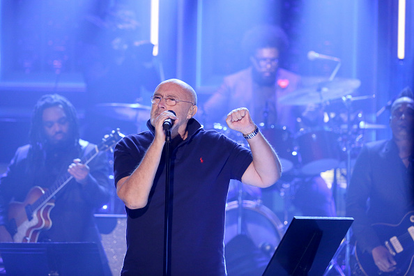 cantante, phil collins, concierto, música, Jimmy Fallon